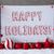 label snow christmas balls text happy holidays stock photo © nelosa