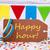 tag · witte · tekst · gelukkige · verjaardag · papier · partij - stockfoto © nelosa