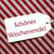 label on red wrapping paper schoenes wochenende means happy weekend stock photo © nelosa