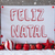 label snowflakes balls feliz natal means merry christmas stock photo © nelosa
