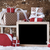 sleigh with gifts snow snowflakes copy space stock photo © nelosa