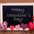 iskolatábla · szívek · szöveg · valentin · nap · délelőtt · 14 - stock fotó © nelosa