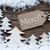 label christmas trees snow merci mean thank you stock photo © nelosa