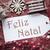 nostálgico · decoração · etiqueta · alegre · natal · como - foto stock © nelosa