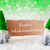 green natural gnomes with card frohe weihnachten means merry christmas stock photo © nelosa