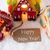 colorful gingerbread house snow text happy new year stock photo © nelosa