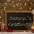 christmas card blackboard snowflakes seasons greetings stock photo © nelosa