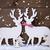Noel · dekorasyon · geyik · Yıldız · ahşap · ışık - stok fotoğraf © nelosa