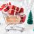 подарки · Label · текста · веселый · Рождества · с · Новым · годом - Сток-фото © nelosa