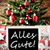 christmas tree with alles gute means best wishes stock photo © nelosa
