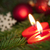 сжигание · свечу · рождественская · елка · bokeh · Рождества · украшения - Сток-фото © nelosa
