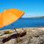 part · narancs · napernyő · tengerpart · szigetvilág · zárt - stock fotó © nelosa