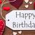 one label red hearts happy birthday macro stock photo © nelosa