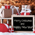 sleigh with gifts snow bokeh text merry christmas new year stock photo © nelosa