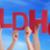 mãos · palavra · vermelho · cartas · amor - foto stock © nelosa