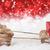 beyaz · Noel · dekorasyon · kar · bo - stok fotoğraf © nelosa