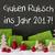 christmas decoration cement snow guten rutsch 2017 means new year stock photo © nelosa