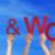 pessoas · palavra · blue · sky · muitos · caucasiano - foto stock © nelosa
