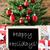 kolorowy · drzewo · płatki · śniegu · wesoły · karty · pory · roku - zdjęcia stock © nelosa