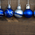 beş · Noel · fotoğraf · mavi - stok fotoğraf © nelosa