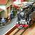 おもちゃ · 孤立した · 石炭 · レトロな · エンジン - ストックフォト © nelsonart