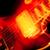 elektromos · gitár · homály · bemozdulás · közelkép · gitár · piros - stock fotó © nelsonart