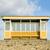 yıpranmış · plaj · kulübe · altın · kum · plaj · manzara - stok fotoğraf © nelsonart
