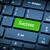 verde · chave · motivação · negócio · computador - foto stock © nemalo