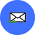 email · ikon · kék · nyíl · illusztráció · bejövő · üzenetek - stock fotó © nemalo