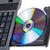 software · portátil · cd · bandeja · oficina · trabajo - foto stock © nemalo