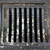 manhole cover metal storm drain with warnings stock photo © nemar974