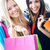 two young friends shopping together stock photo © nenetus