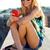 meisje · vergadering · dak · gelukkig · kind · spelen - stockfoto © nenetus