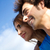 portrait of young couple looking at the horizon stock photo © nenetus