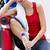 genç · kadın · rahatlatıcı · spor · salonu · egzersiz · mutlu - stok fotoğraf © nenetus