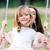 nipote · swing · parco · felice · kid - foto d'archivio © nenetus