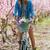 zomervakantie · gevoel · portret · mooie · jonge · brunette - stockfoto © nenetus