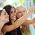 grupy · szczęśliwy · znajomych · ulicy · turystyki - zdjęcia stock © nenetus