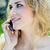 çekici · moda · sarışın · kız · park · bahar - stok fotoğraf © nenetus