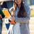 drei · Studenten · außerhalb · College · lächelnd - stock foto © nenetus