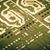 компьютер · совета · чипов · компоненты · аннотация · синий - Сток-фото © nenovbrothers