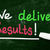 we deliver results stock photo © nenovbrothers