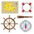 przestarzały · kompas · marynarz · Pokaż · tekstury · morza - zdjęcia stock © neokryuger