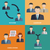 ビジネスチーム · 作業 · 成功 · ベクトル · を · 取引 - ストックフォト © neokryuger