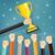 campeón · dorado · trofeo · taza · brillante · adjudicación - foto stock © neokryuger