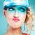 funny blonde girl posing stock photo © neonshot