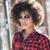 moda · genç · kadın · güneş · gözlüğü - stok fotoğraf © neonshot