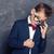 моде · выстрел · элегантный · молодым · человеком · костюм - Сток-фото © neonshot