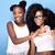 two beautiful young sisters posing stock photo © neonshot