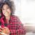 jong · meisje · afro · jonge · mooie · afro-amerikaanse - stockfoto © NeonShot